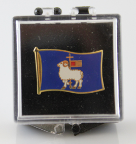 Pin Gotlandsflagga 20st/fp Pris 19.-/st