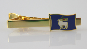 Slipsklämma Gotlandsflagga 10st/fp Pris 32.-/st