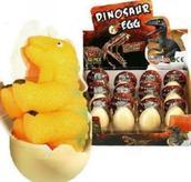 7. Dinoägg 12st/fp 19.50.-/st