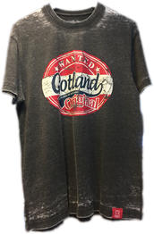 """T-shirt Svart """"Gotland wanted"""" 30st /förp Pris 75.-/st"""