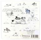 "Servett ""Lamm vid stentun"" 20-pack 24st/fp Pris 15,50/set"