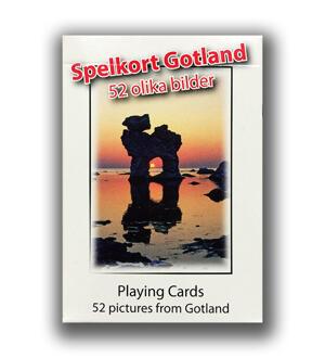Spelkort Gotland 24st/fp Pris 14,50/st