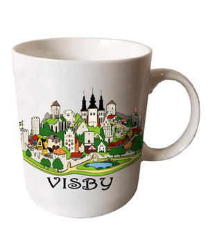 Mugg Visby collage 24st/fp Pris: 28.- /st