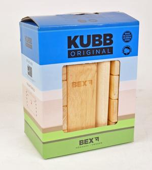 2. KUBB ORIGINAL RED KING 6/fp 350kr/st
