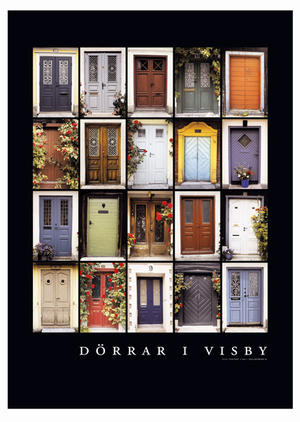 Poster Dörrar i Visby 10st/fp 29.-/st
