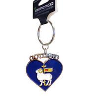 N-ring Gotlandvapen hjärta 12st/fp Pris: 19.- /st