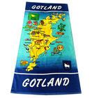 Badlakan Gotlandskarta 10st/fp Pris 85.-/st