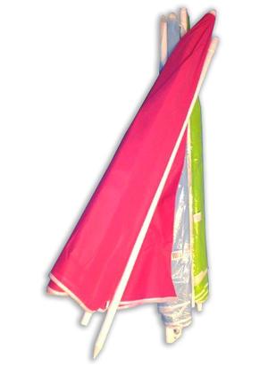 6. Strandparasoll 180cm 12st/fp Pris: 79.-/st